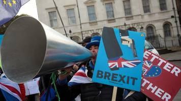 the brexit deadline approaches, and a delay seems unlikely