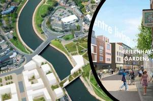 jaw dropping 12,000 exeter homes and garden bridge vision backed
