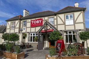 brentwood toby carvery's kitchen is shut - and these disgusting photos reveal why