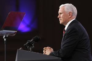pence accuses european nations of trying to 'break' us sanctions against iran
