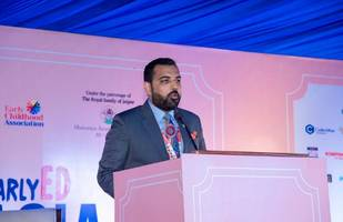 mewar prince speaks about overcoming learning disabilities at early ed asia 2019