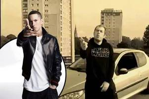 rapper dubbed irvine's answer to eminem nominated for national music award