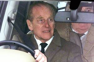 Duke of Edinburgh won't be prosecuted over Sandringham car crash