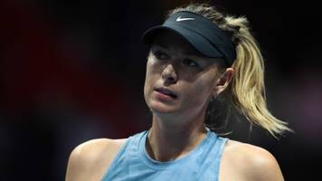 sharapova 'working through some painful days' as she pulls out of indian wells