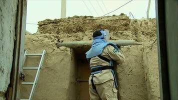 the afghan village built from missiles