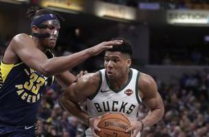 pacers can't close out bucks as win streak comes to an end with 106-97 loss