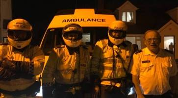 police explain a1 slow-moving ambulance - teen's thanks to patient motorists