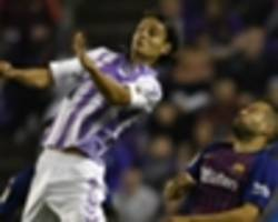 former man city striker enes unal a rising star at real valladolid