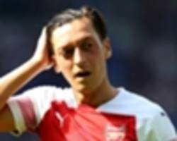 'ozil must be considering retirement if he can't get in this arsenal team' - merson baffled by 'best player' snub