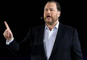 marc benioff says that before salesforce buys a startup, he does 'due diligence' on a company's culture and how it pays employees (crm)
