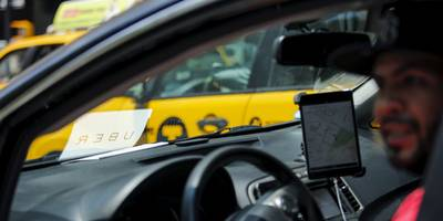 uber is suing to block new york's cap on new ride-hailing vehicles
