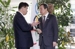 Koreas visit IOC about helping the North at Tokyo Games
