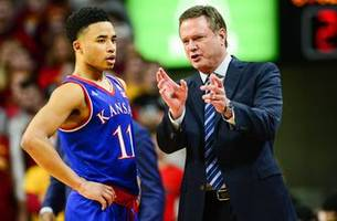 eight key players will be missing when ku, west virginia face off saturday