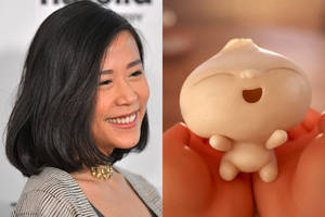 domee shi explains why toilet paper rolls were important to pixar's oscar-nominated short 'bao'