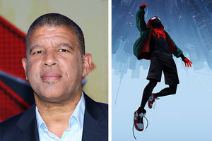 'into the spider-verse' director peter ramsey: 'growing up i never had a superhero like' miles morales