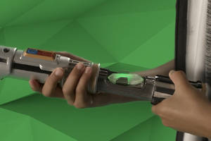 Star Wars Lightsaber Academy is a digital training toy for your youngest Padawans