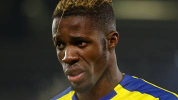 Crystal Palace: Wilfried Zaha banned for FA Cup fifth-round tie