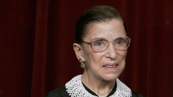 Ruth Bader Ginsburg Returns To The Supreme Court After Surgery