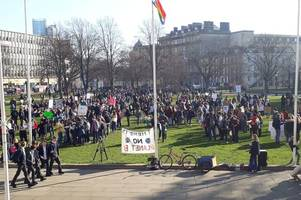 this is why there are so many school children on college green