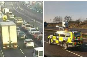 police name north staffordshire man, 30, killed after being hit by m6 lorry on valentine's day