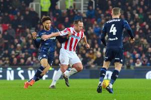 stoke city boss toys with charlie adam option again
