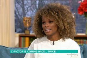 fleur east says she 'wouldn't' take part in new x factor revamp