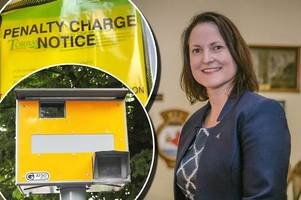 police boss alison hernandez gets speeding fine and parking ticket on valentine's day