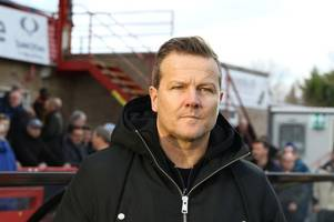 'there's no need to panic,' insists forest green rovers manager mark cooper ahead of visit by yeovil town
