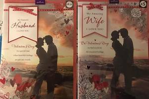 tesco reveal why almost identical husband and wife valentine's cards are priced differently