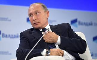 vladimir putin says u.s. missiles aren't welcome in europe, claims 'totally independent countries don't exist'