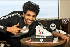 hummel signs bollywood heartthrob, kartik aaryan as india brand ambassador