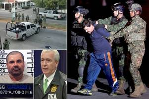 el chapo: law agent tells of obsession that led him to stop drug lord
