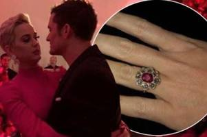 Katy Perry and Orlando Bloom engaged after Valentine's Day proposal