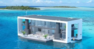 Ride out Climate Change in This $5.5 Million Self-Sustaining Yacht