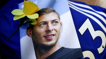 sala's body flown back to argentina for funeral