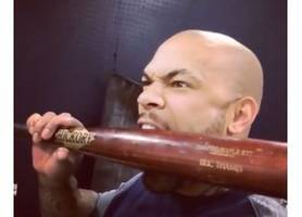 top tweets: eric thames is ready for spring training
