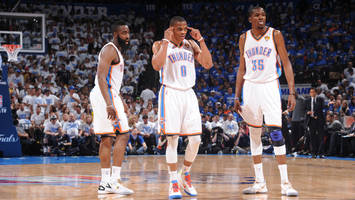 watch: russell westbrook discusses thunder big 3 era with kevin durant, james harden