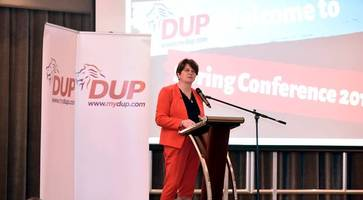 DUP leader warns Sinn Fein that restoration of devolution is 'no game'