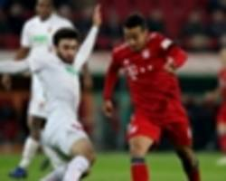 liverpool on the mind? kovac claims bayern may have been overlooking augsburg
