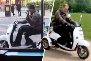 Music scooter man says people dancing to his tunes are 'little moments of magic'