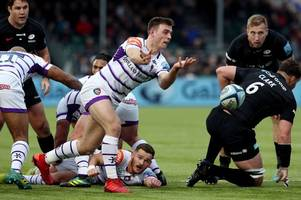 leicester tigers go down to second-half burst from saracens in gallagher premiership