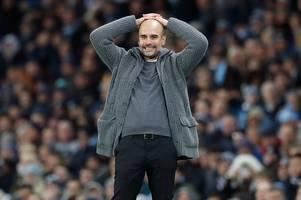 manchester city boss pep guardiola apologises to former leicester city star