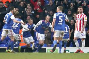 ipswich town 1, stoke city 1: nathan jones left shaking his head at late lapse
