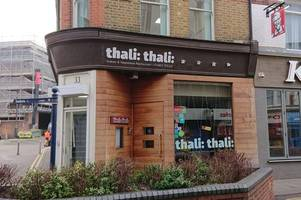 'ongoing mouse activity' at thali thali restaurant in woking, food hygiene report reveals