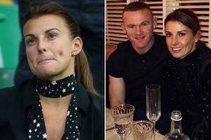 coleen rooney 'flees the us' after 'forgiving' wayne over romantic valentine's meal