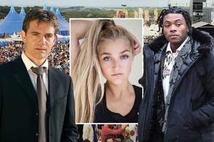 rapper blames taggart star john michie over death of his daughter at bestival