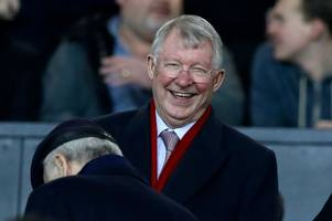 sir alex ferguson to return to manchester united dugout - one year on from brain haemorrhage
