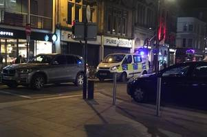 man due in court after armed police sent to busy cardiff city centre street
