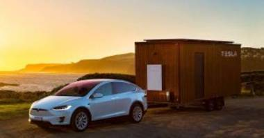 """teslas are getting a """"party and camping mode"""""""