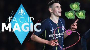 fa cup magic fourth round: fantastic foden, nose 'splattering' saves & cabbage-patch pitches